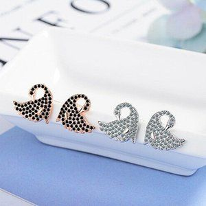 Sterling Silver Plated Cubic Zircon Earring